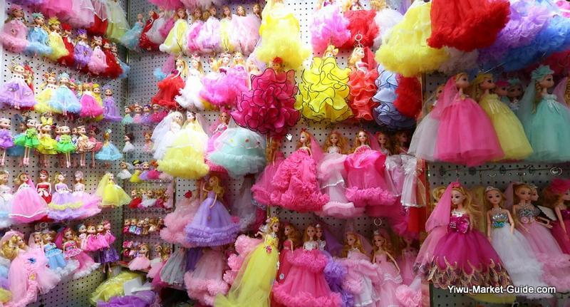 barbie keyrings / keychains wholesale yiwu market china
