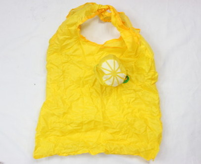 Folding Bags # 1001-003-2, lemon shape, unfold