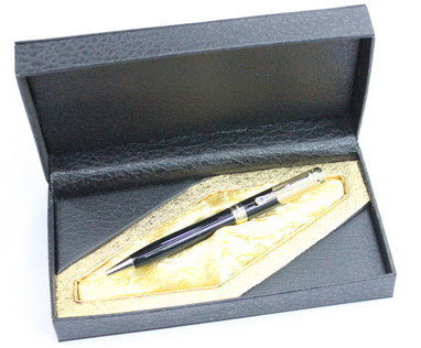 Promotional Metal Pen #1801-190, with leather box