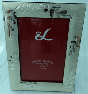 silver plated photo frame for wholesale