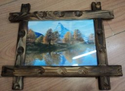 cheap wooden photo frame for kids