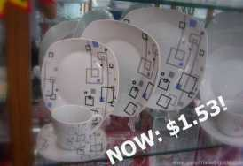 cheap dinnerware set