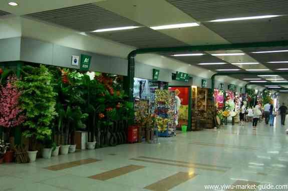 yiwu flowers market