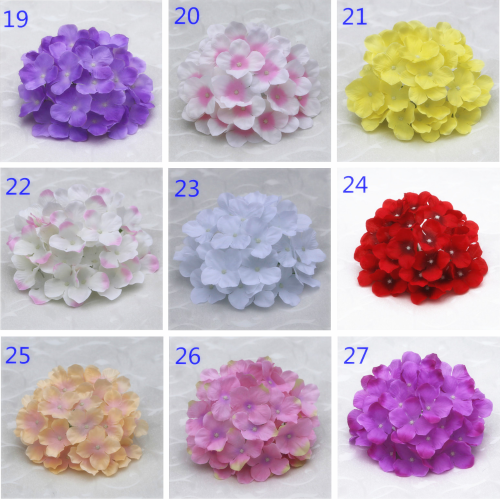 Top 4 hydrangea silk flowers wholesale Yiwu China, color swatch 3