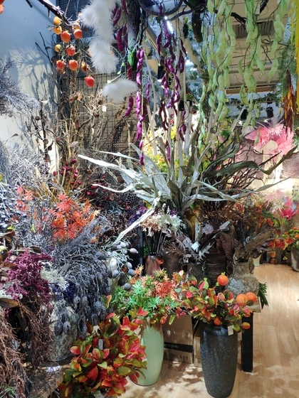 9103 ZUOMOGONGYI artificial flowers & plants factory wholesale supplier showroom 010