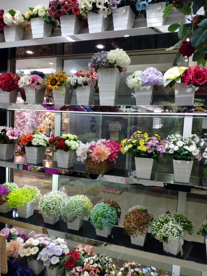 9104 SIHAI Artificial Flowers & Plants showroom 004