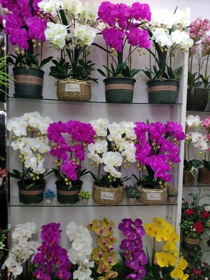 9104 SIHAI Artificial Flowers & Plants showroom 008