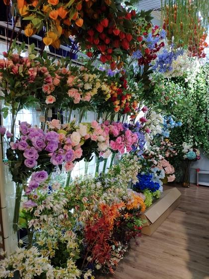 9105 OuXi Plastic Flowers Showroom 009