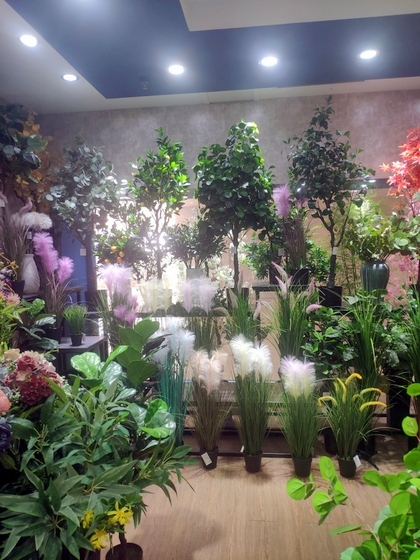 9111 TINGXUAN Flowers Factory Wholesale Supplier in Yiwu China. Showroom 004