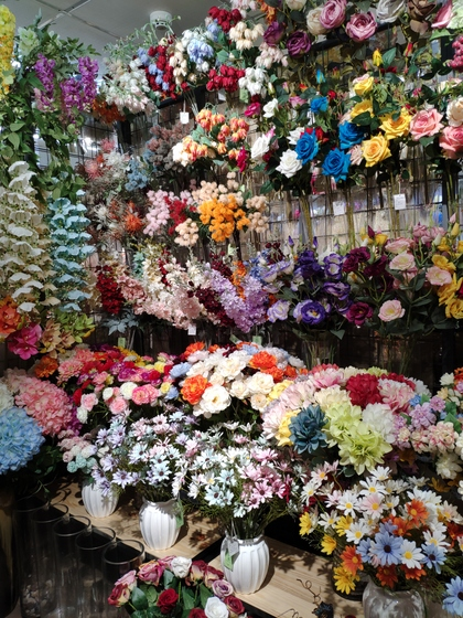 9118 SHENGDA Imitation Flowers Showroom 006