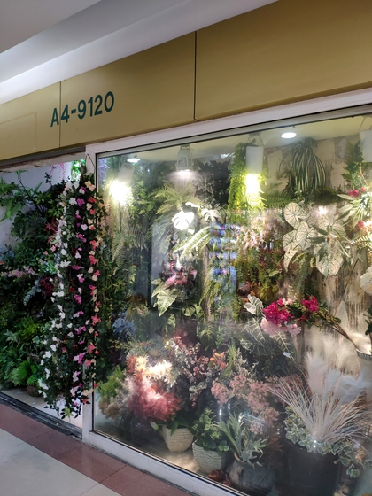 9120 JunWei Artificial Flowers Store Front