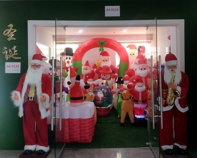 9123 ZQ Santa Clause wholesale supplier & factory showroom