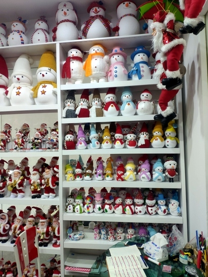 9123 ZQ Santa Clause wholesale supplier showroom 007