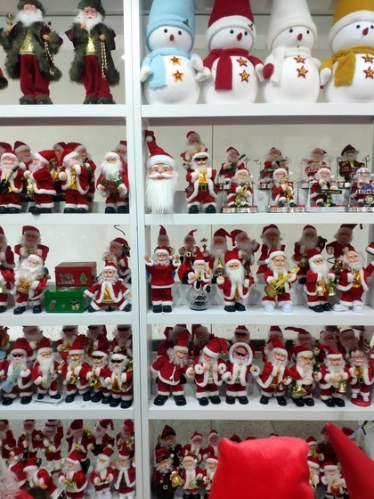 9123 ZQ Santa Clause wholesale supplier & factory showroom 008
