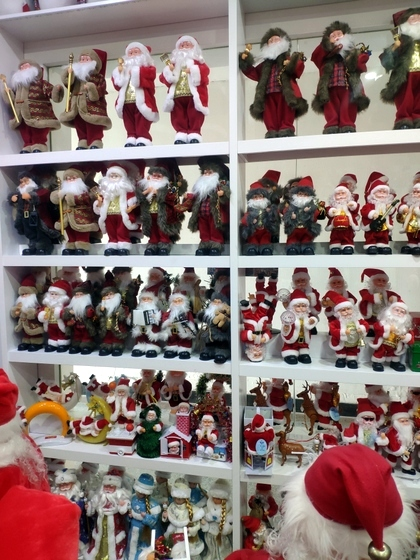 9123 ZQ Santa Clause wholesale supplier & factory showroom 009