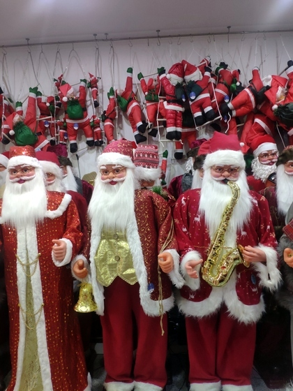 9123 ZQ Santa Clause wholesale supplier & factory showroom 012