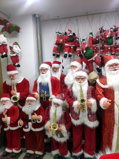 9123 ZQ Santa Clause wholesale supplier & factory showroom 013