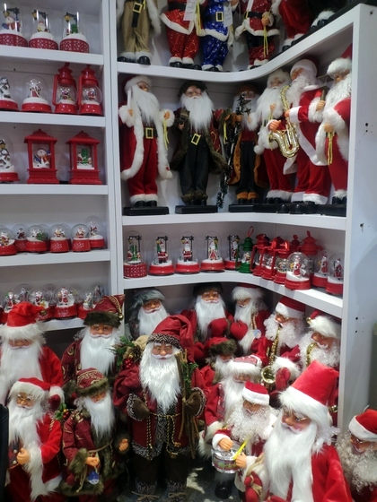 9123 ZQ Santa Clause wholesale supplier & factory showroom 015