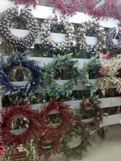 9128 MuCheng Christmas Flowers Showroom 001