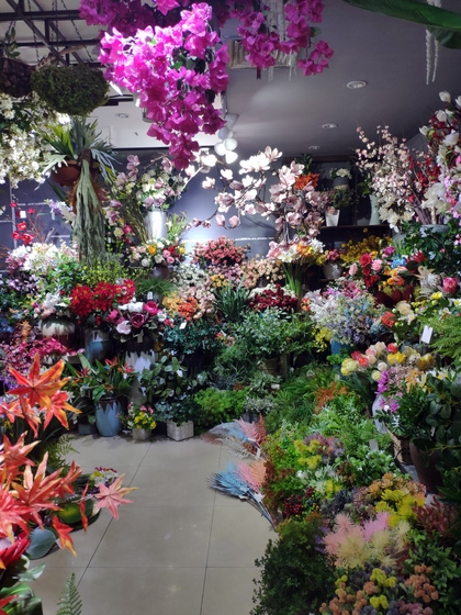9130 HONGXIN Plastic Flowers Showroom 004