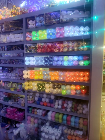 9137 WEIWEI Christmas Lights Factory Wholesale Supplier in Yiwu China. Showroom 006
