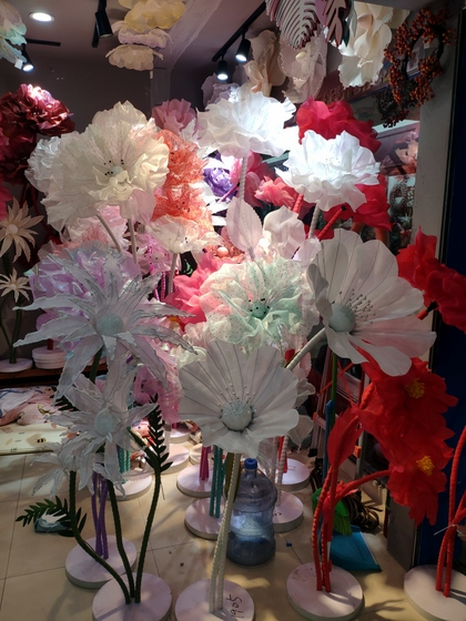 9138 XINGDA Plastic Flowers Showroom 003