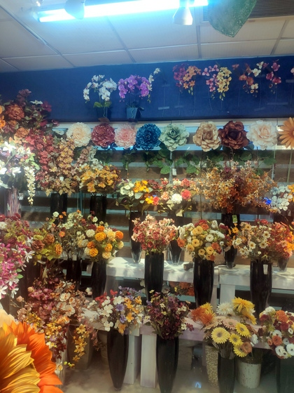 9152 XILUNAI Floral Factory Wholesale Supplier. Showroom 000