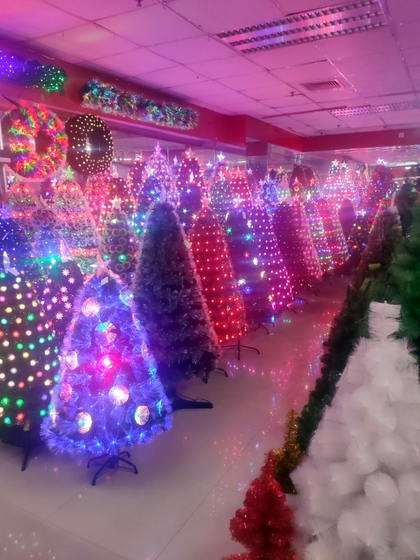 9179 YINGKESONG Christmas Decor Factory Wholesale Supplier Yiwu China Showroom 004
