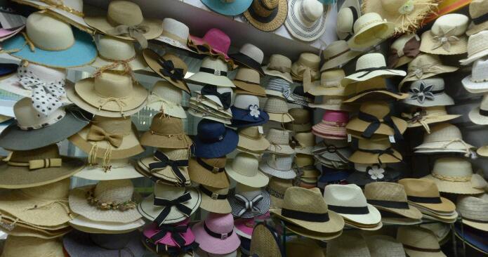 A-cixi-hat-factory-showroom-inside-yiwu-market