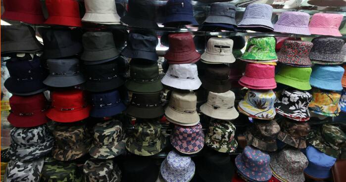 A-taizhou-hat-factory-showroom-inside-yiwu-market