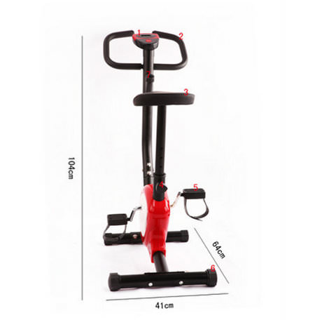 Home Exercise Bike Size
