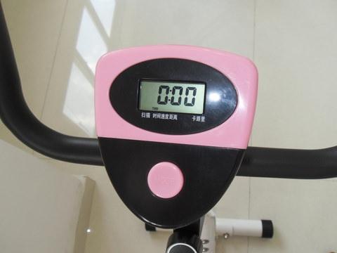 Belt Exercise Bike Display
