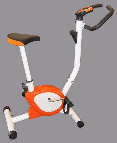 Home Exercise Bike, belt, Orange