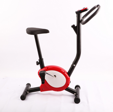 Home Exercise Bike, belt, Red