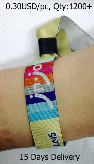 Cloth Party Wristband