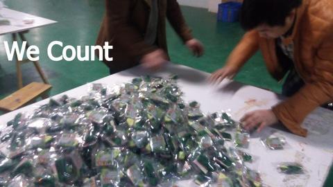 Vending toys QC - count
