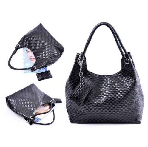 PU Crochet Hand Shoulder Bags