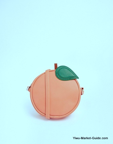 Peach Shape Bag