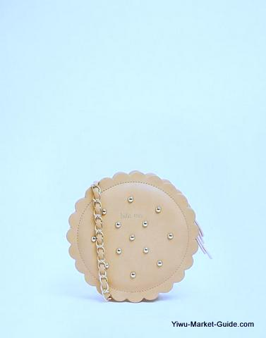 pan cake Shape Bag