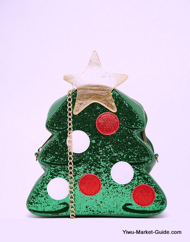 Christmas tree  Shape Bags