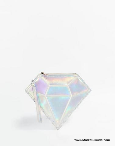Diamond shape bags