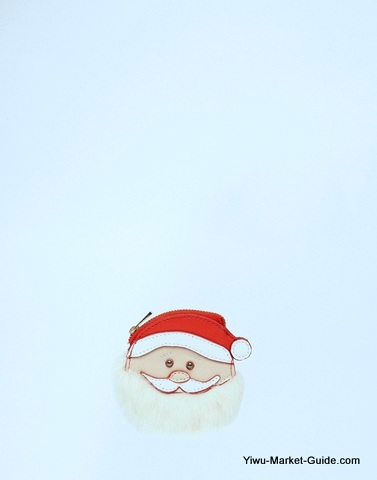 Santa Clause Shape Bags
