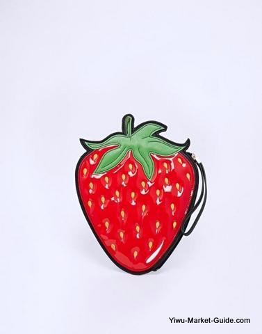 Strawberry Shape Bag