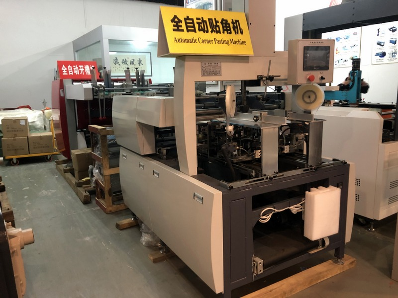 Automatic Conner pasting machine in Packing & Printing Machinery Market, Yiwu China