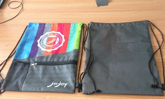 Promotional Drawstring Backpack Full Color Print