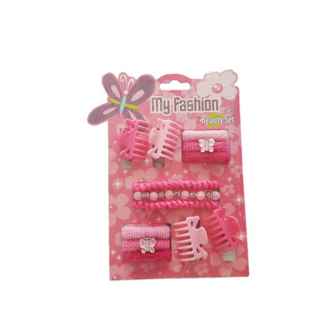 13 pcs girl hair accessories set: band, comb, comb, cute