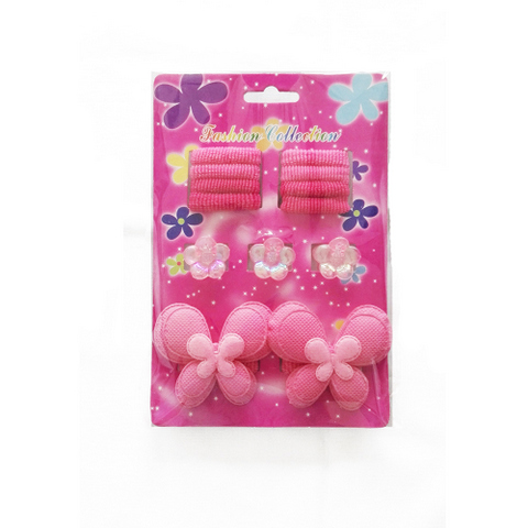 13 pcs hair accessories set for kids: claws, bands, clips