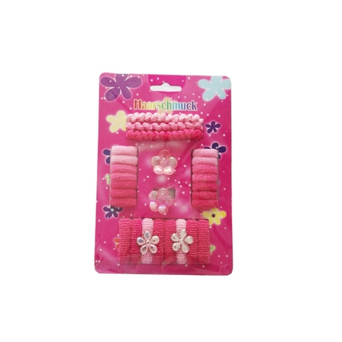 27 pcs hair accessories set for kids: claws, bands, clips