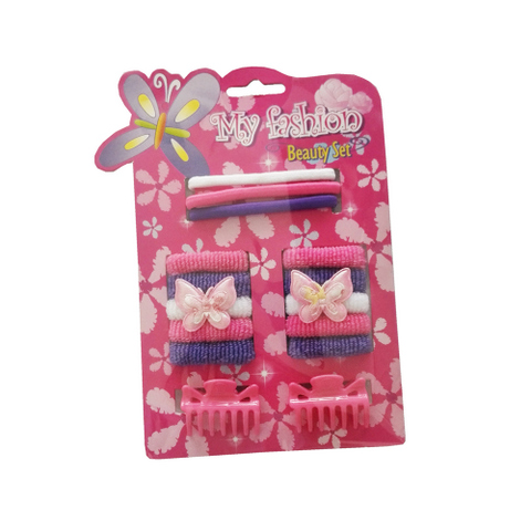 15pcs Kids Hair Accessories Set With Display Box. Butterfly bands