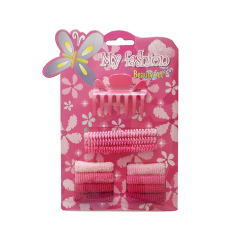 12pcs Kids Hair Accessories Set With Display Box.